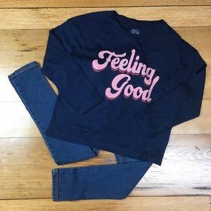 NWT Gymboree Girls Long Sleeve T-shirt and Jegging